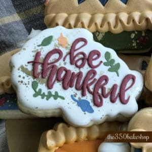 BE THANKFUL COOKIE CUTTER