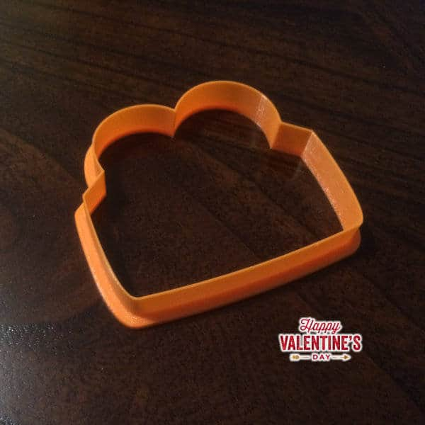 Envelope Heart Cookie Cutter | Fast Cookie Cutters