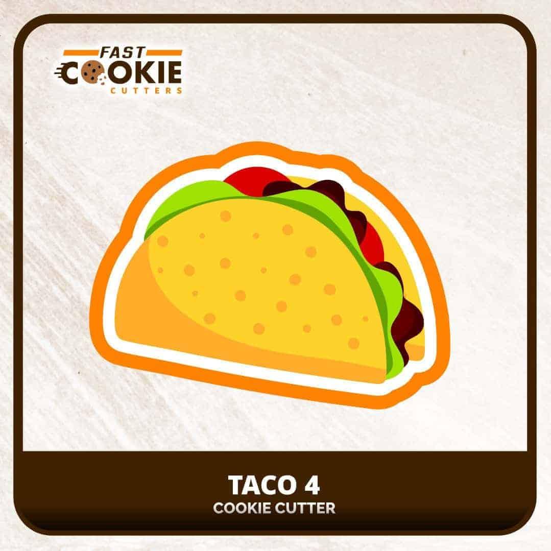 Taco Cookie Cutter
